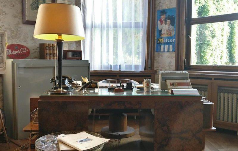 L'ancien bureau, dans la Villa Météor