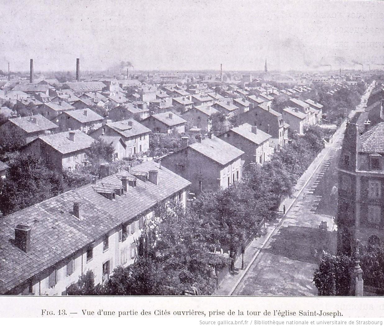 La cité ouvrière de Mulhouse, un petit village dans la ville 11
