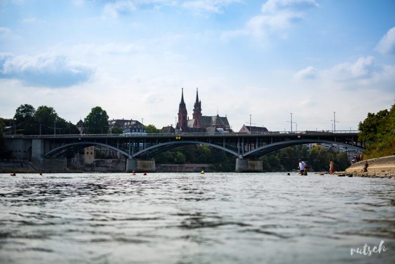 Se baigner dans le Rhin, en plein centre ville 13