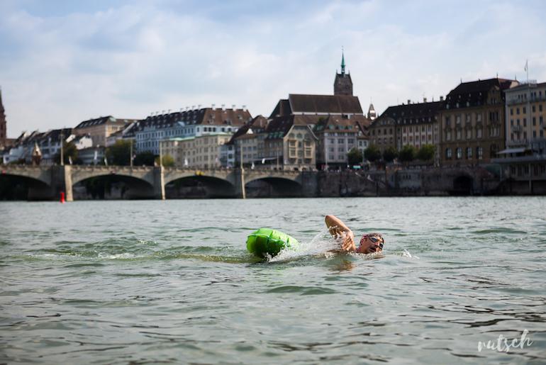 Se baigner dans le Rhin, en plein centre ville 11
