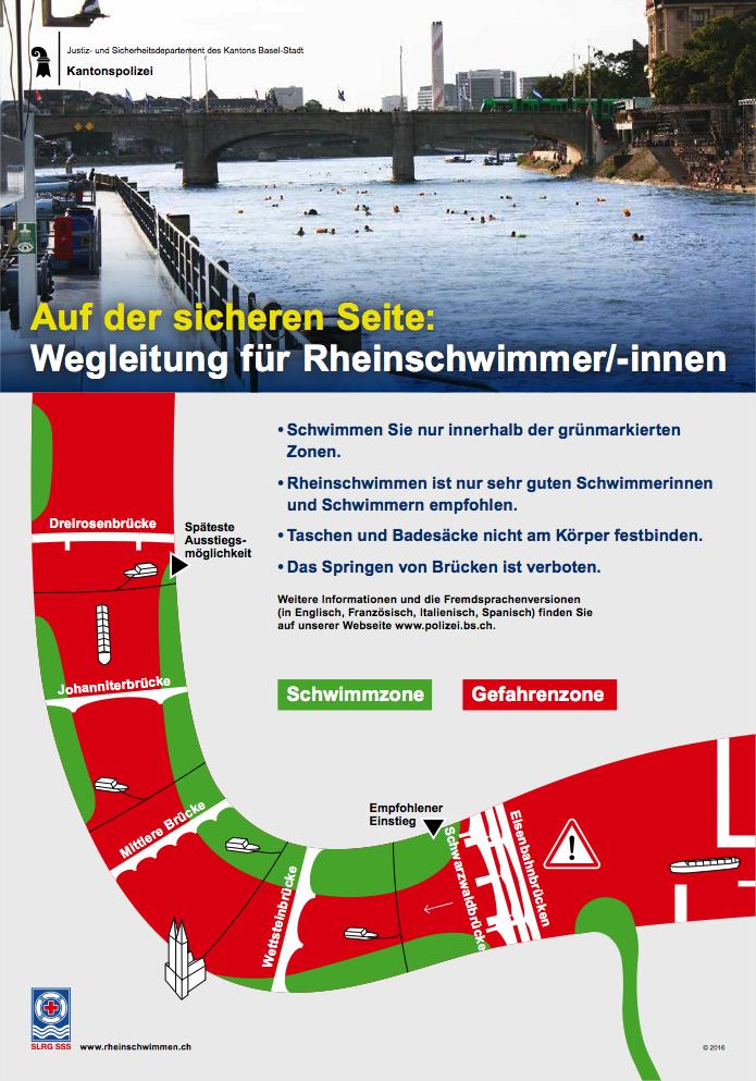 Se baigner dans le Rhin, en plein centre ville 8