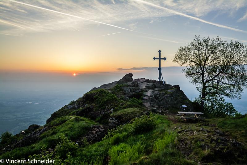 Au sommet du Hartmannwillerskopf