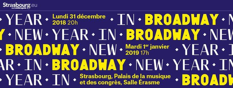 New Year in Broadway avec l'OPS au PMC