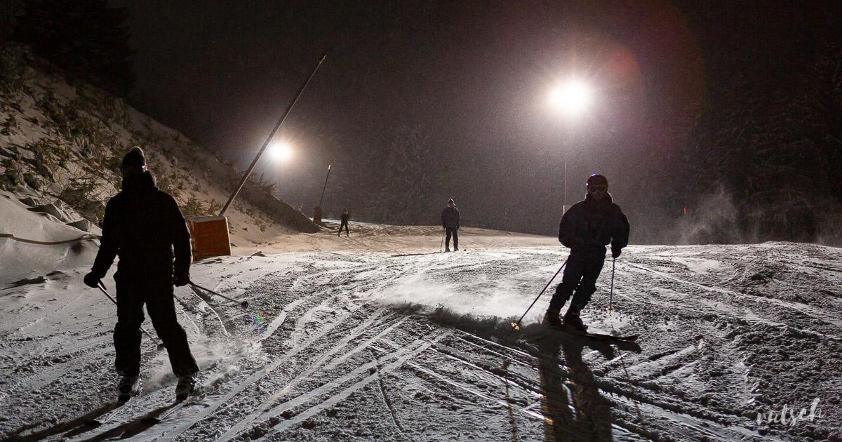 Nocturne Ski Lac Blanc