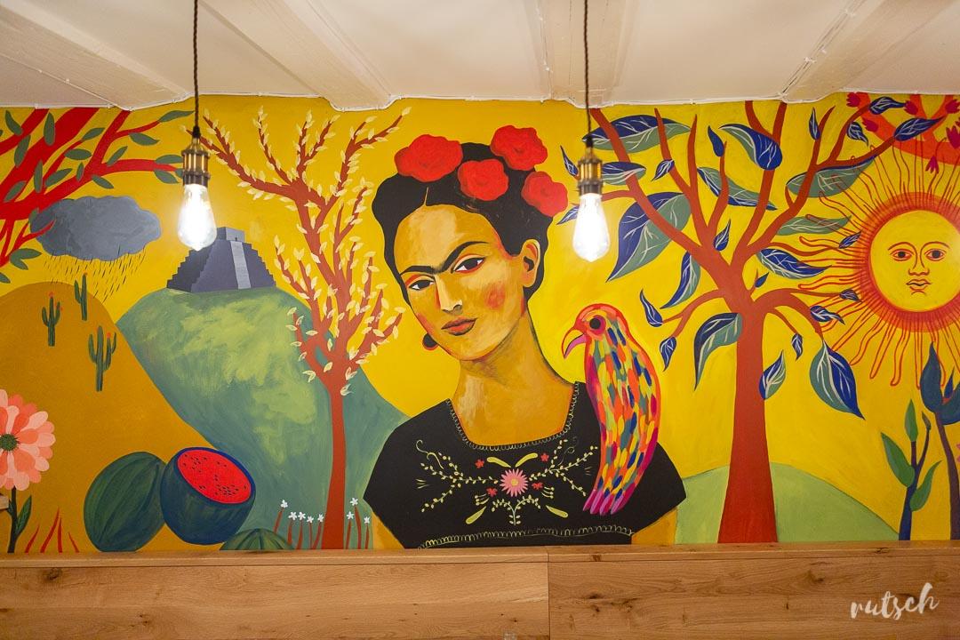Lacocina Strasbourg Fresque Frida Kahlo