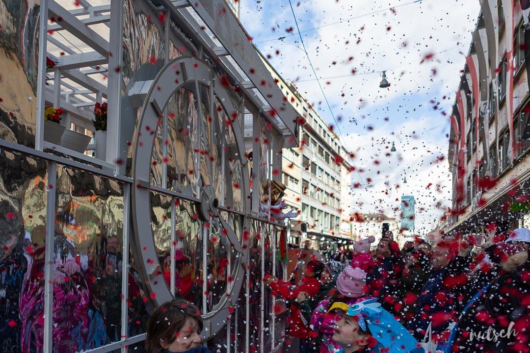 Carnaval de Bâle : parade du lundi