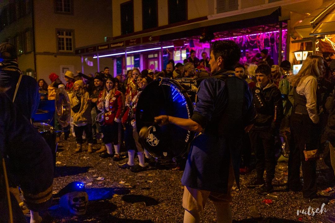 Fanfare dans les rues de Liestal