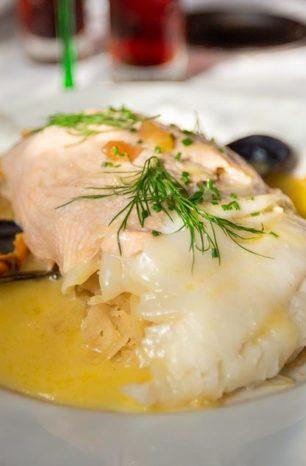 La fameuse choucroute aux 3 poissons de la Maison Kammerzell