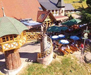 Biergarten d'altitude Sasbachwalden