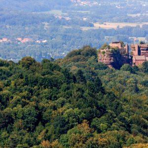Randonner sans voiture : les 5 châteaux de Saverne