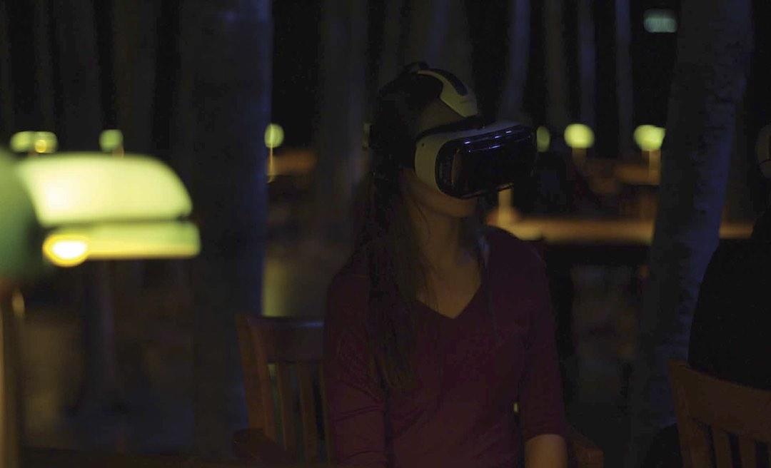 La Bibliothèque, la nuit - Réalité Virtuelle
