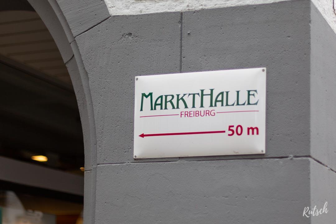 Panneau Markthalle Freiburg