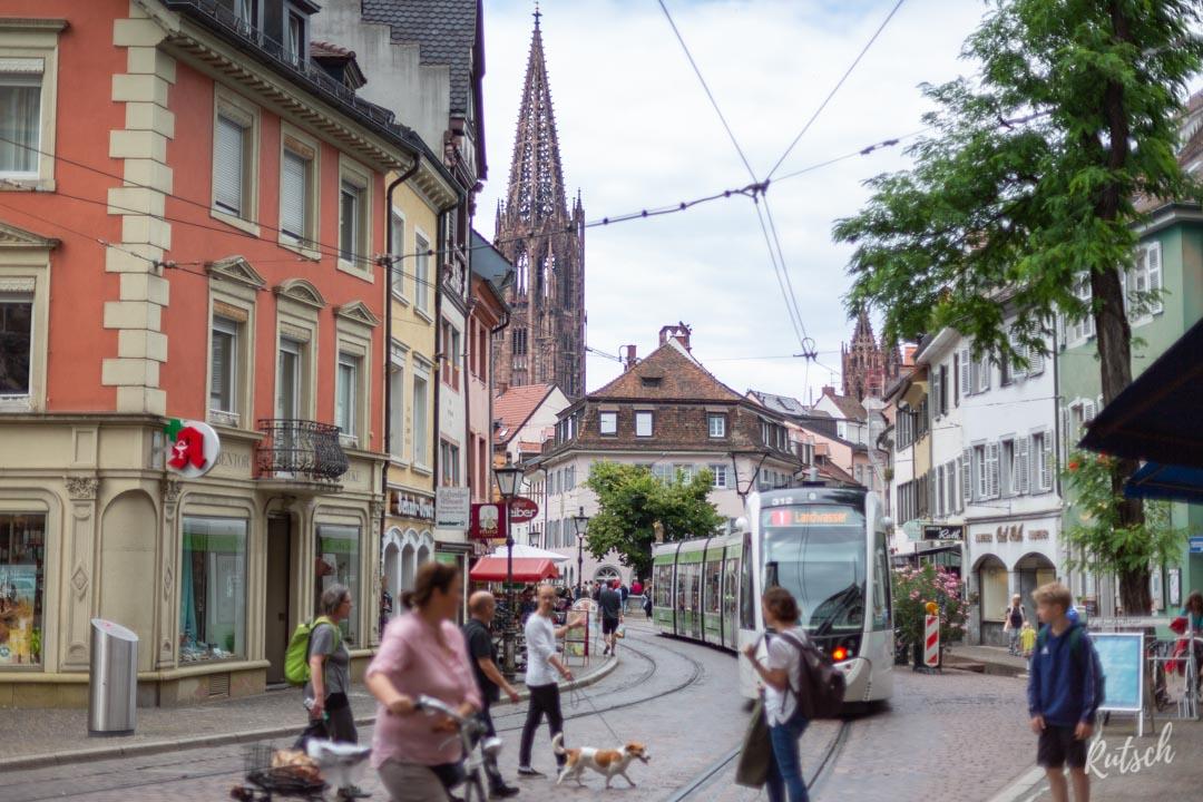 Freiburg-im-Breisgau et tram