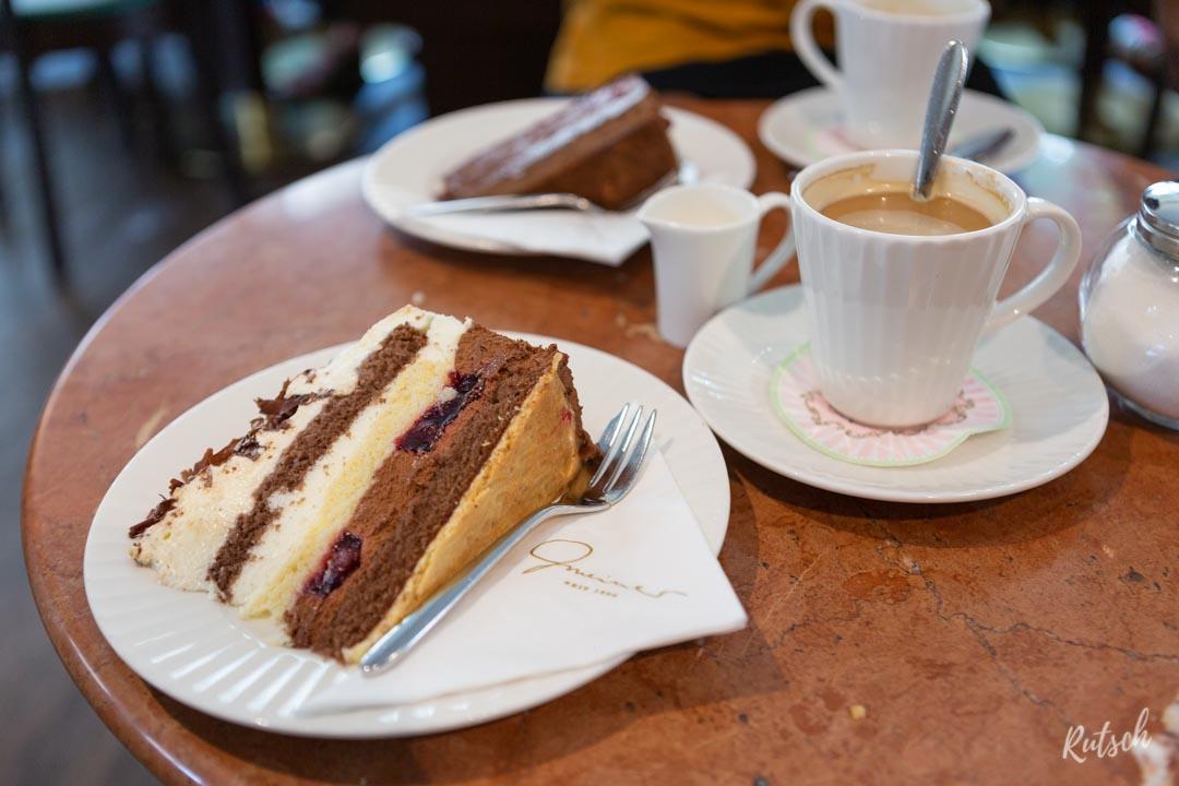 Gâteau Forêt-Noire, Pâtisserie Gmeiner à Freiburg