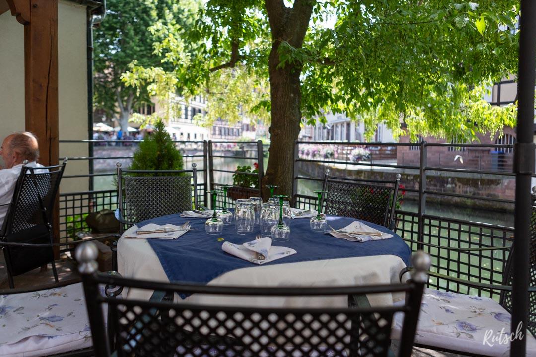 La Maison des Tanneurs Strasbourg - Terrasse