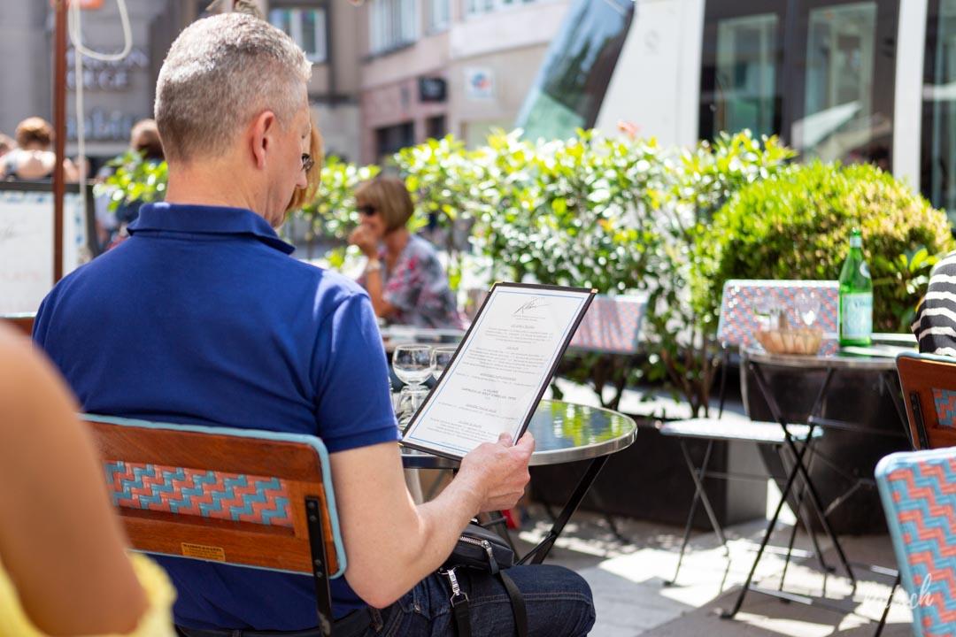 Terrasse Restaurant Bouillon Kléber Strasbourg