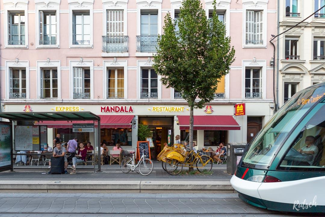 Restaurant Mandala Strasbourg - Façade