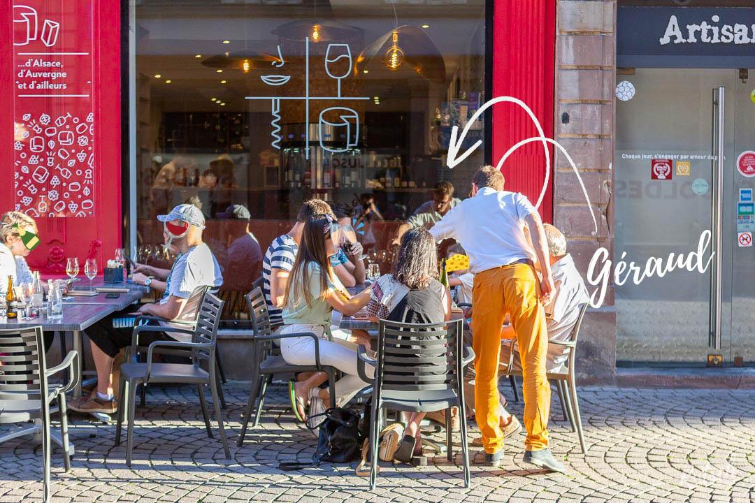 Un Cantalou à Strasbourg Bar à Vins