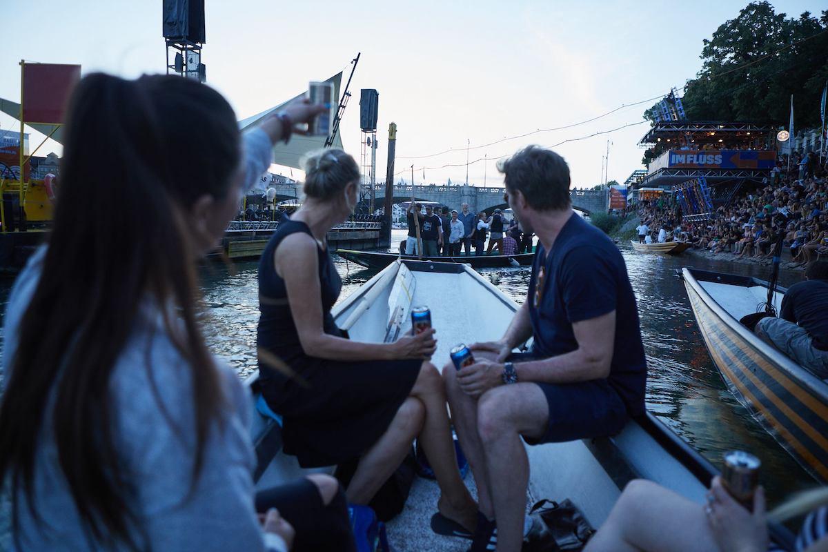imfluss en bateau