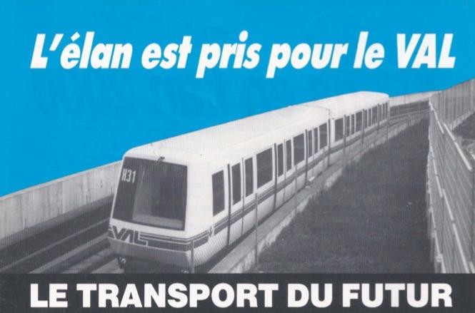 1986 - Le VAL, le transport du futur
