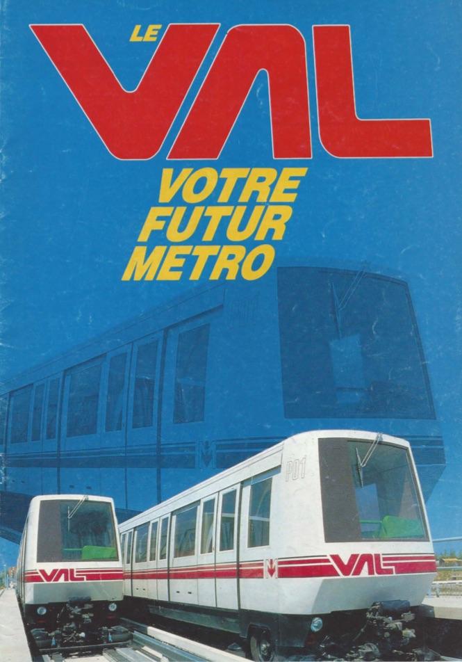 1986 - Plaquette présentation VAL