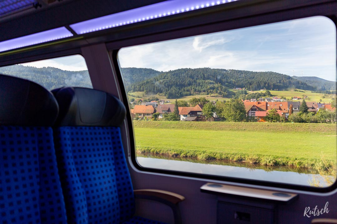 Schwarzwaldbahn dans la Vallée de la Kinzig