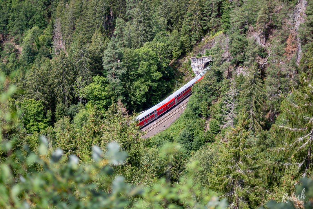 RE sur le Schwarzwaldbahn