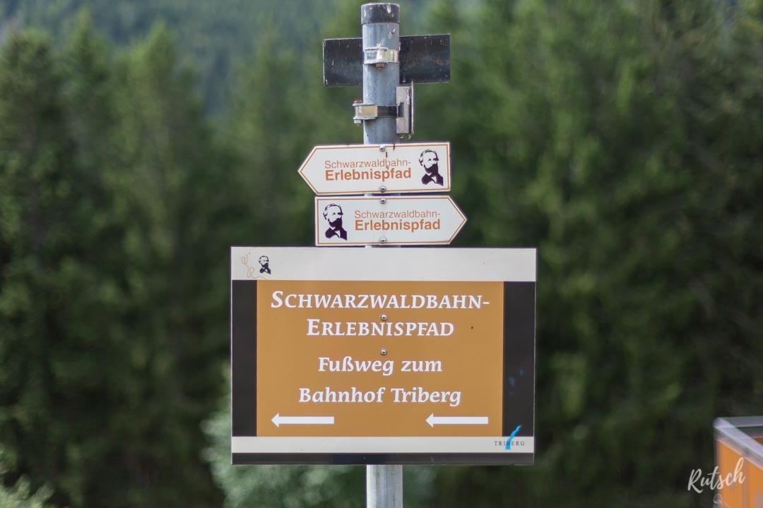 Balisage Schwarzwaldbahn erlebnispfad