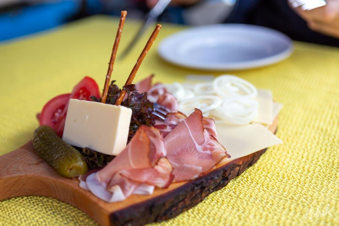 Planchette jambon Forêt-Noire + Fromage