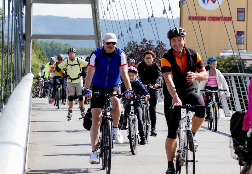 SlowUp! tous à vélo dans trois pays au bord du Rhin
