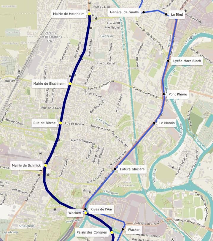En 1989, le Tram détrône le projet de Métro à Strasbourg 15