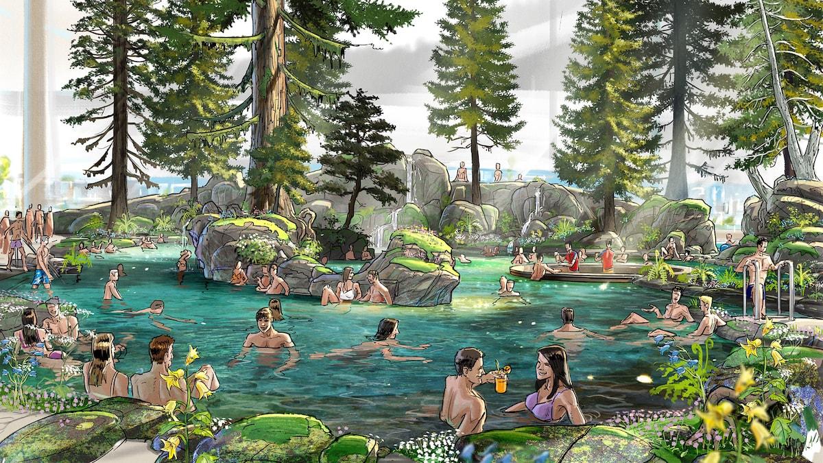 Rulantica Skog Lagune