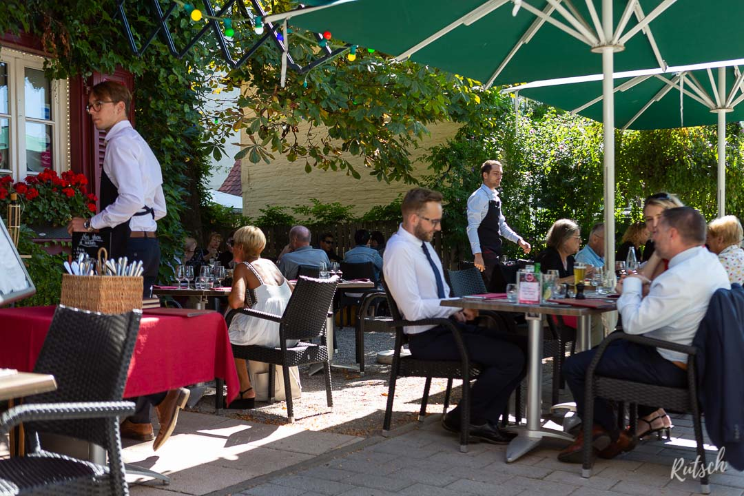 Restaurant La Vignette Robertsau - Terrasse