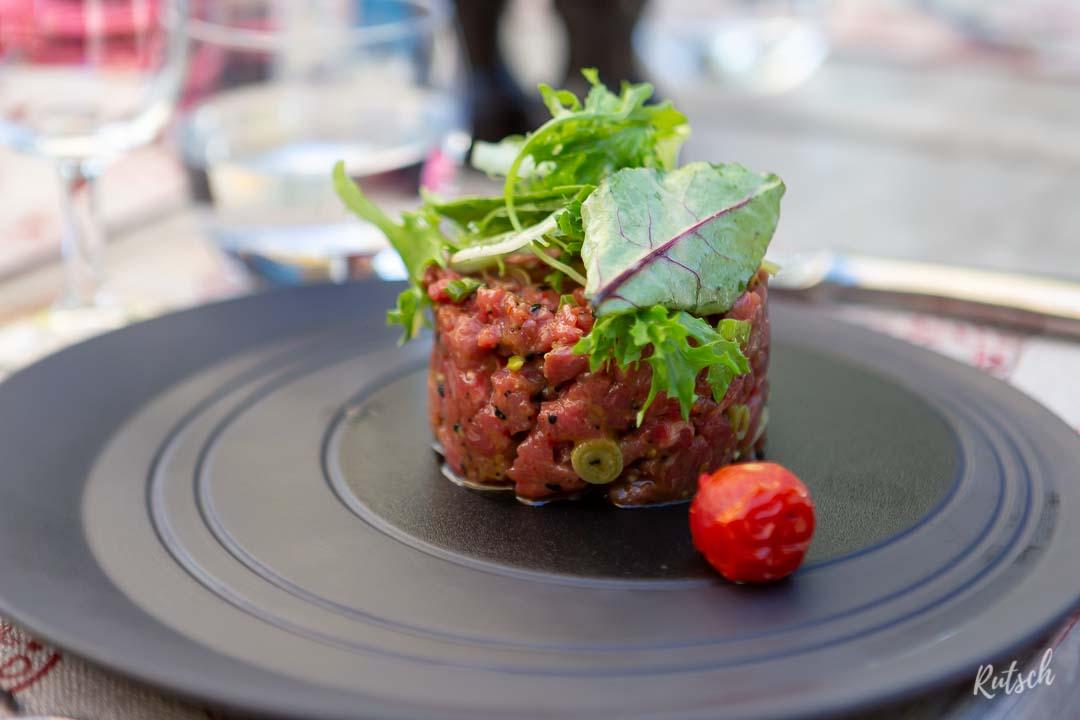 Tartare de Bœuf - Restaurant La Vignette Robertsau