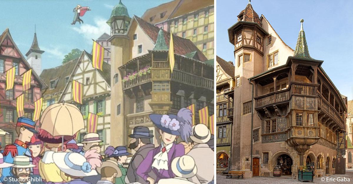 Colmar inspire Miyazaki