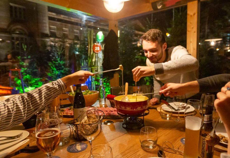 À Saverne, une fondue Savoyarde au pied du Château des Rohan