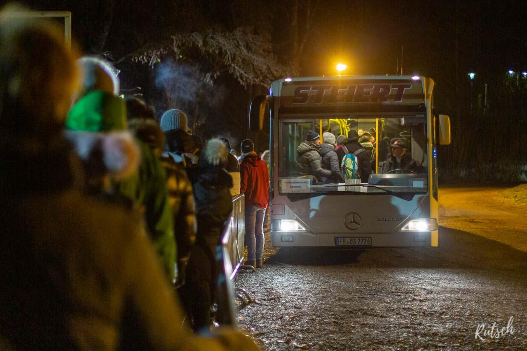 Navette bus Marché Noel Ravennaschlucht
