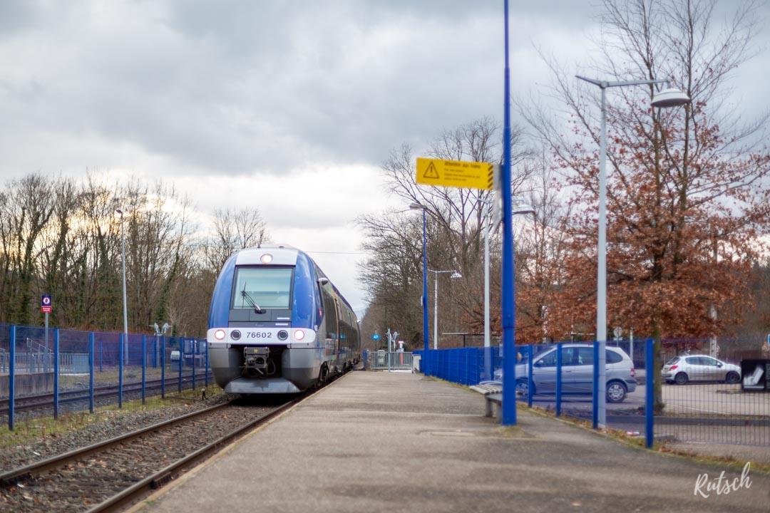 Chaumes de Grendelbruch depuis la Gare de Lutzelhouse
