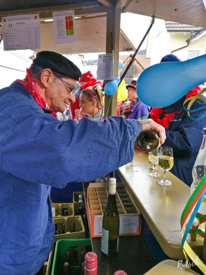 Stand de vin, Carnaval d'Ortenberg
