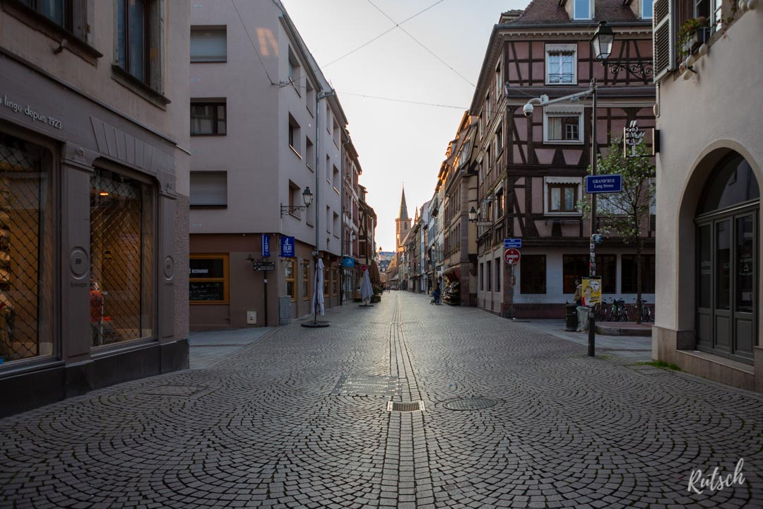 Confinement Covid-19 Strasbourg