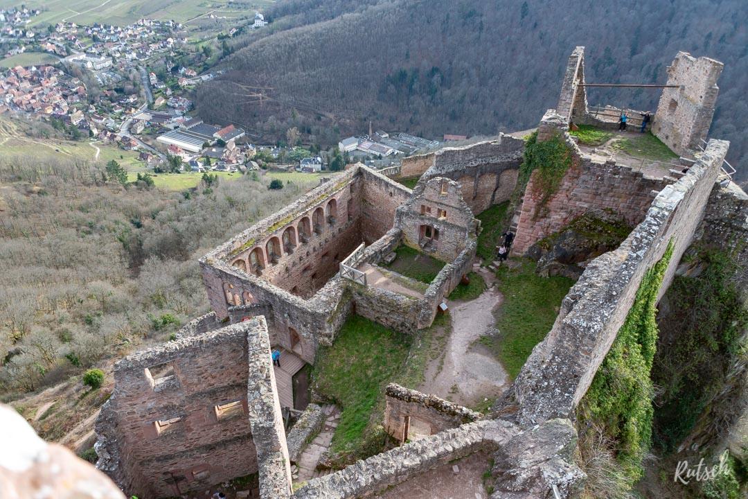 Ruines Saint Ulrich Ribeauvillé
