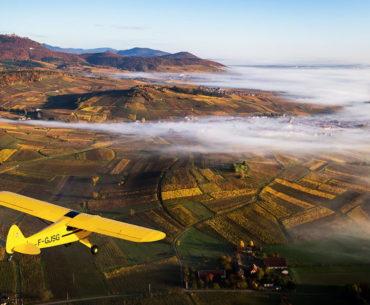 L'Alsace vue du ciel, par Tristan Vuano