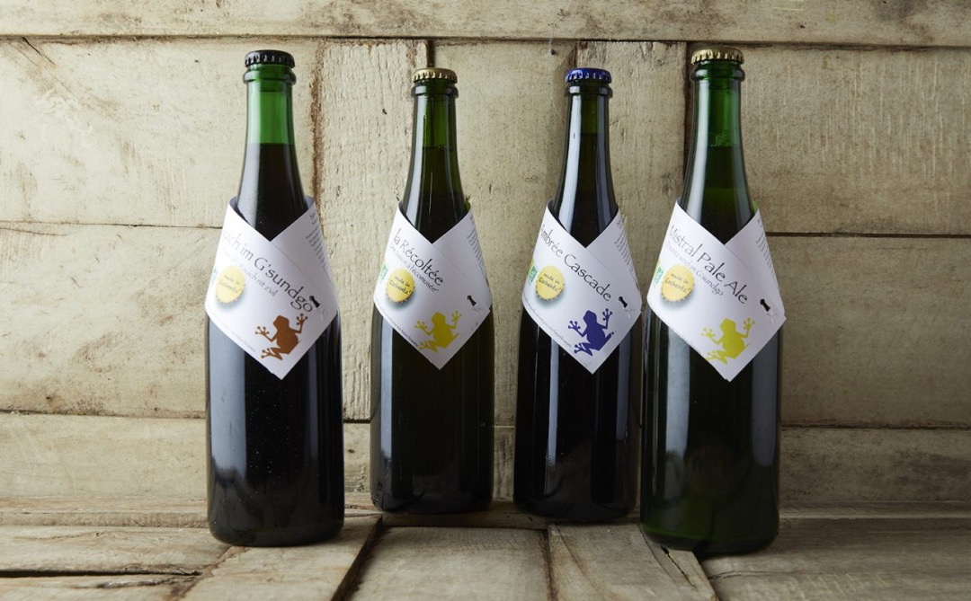 G'sundgo bouteilles brasserie