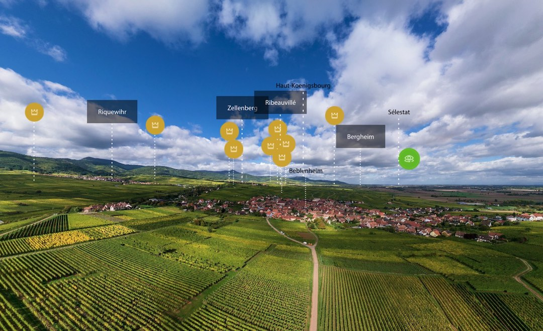 Panorama Vins Alsace