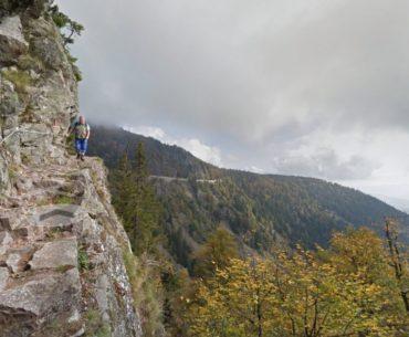 Google Street View Sentier des Roches
