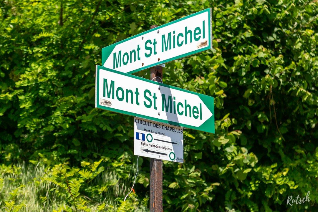 Panneau Mont Saint Michel