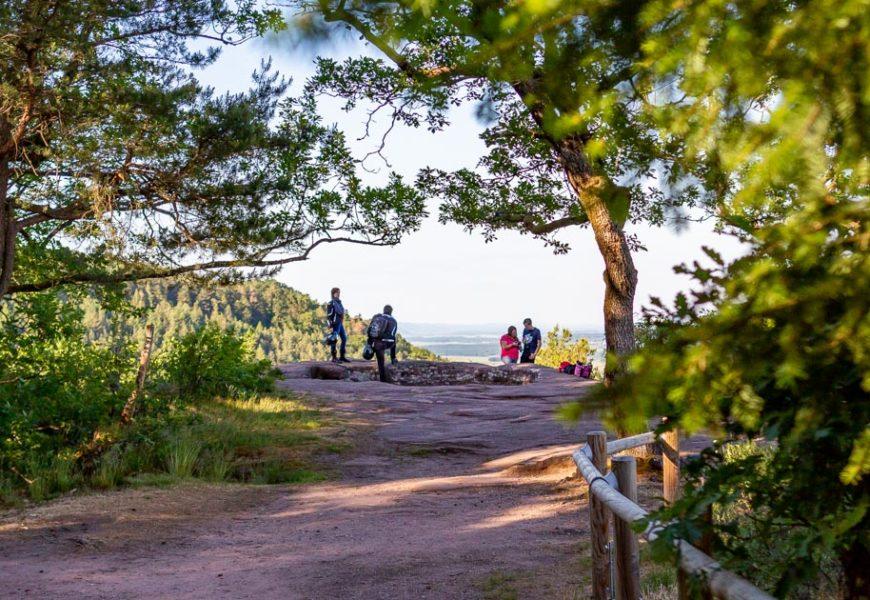 Randonner sans voiture : le Mont Saint-Michel en Alsace