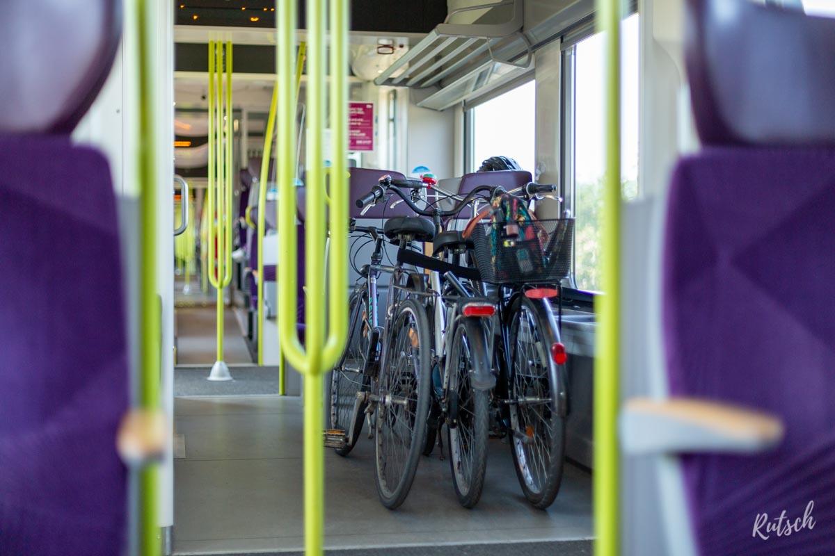 Vélo dans TER Alsace