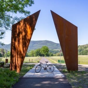 Les Portes Bonheur à Rosheim : à vélo en pleine nature