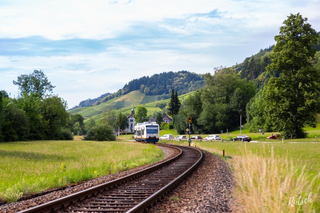 Train entre Achern et Ottenhöfen